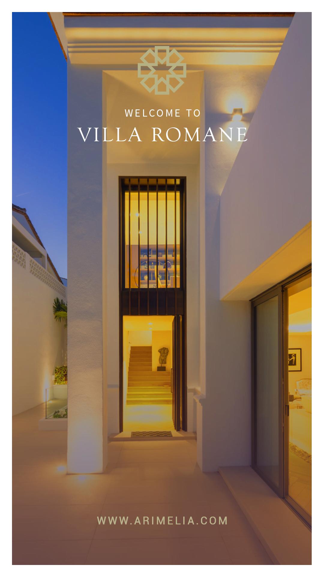 Luxury Villa Rental Story Template