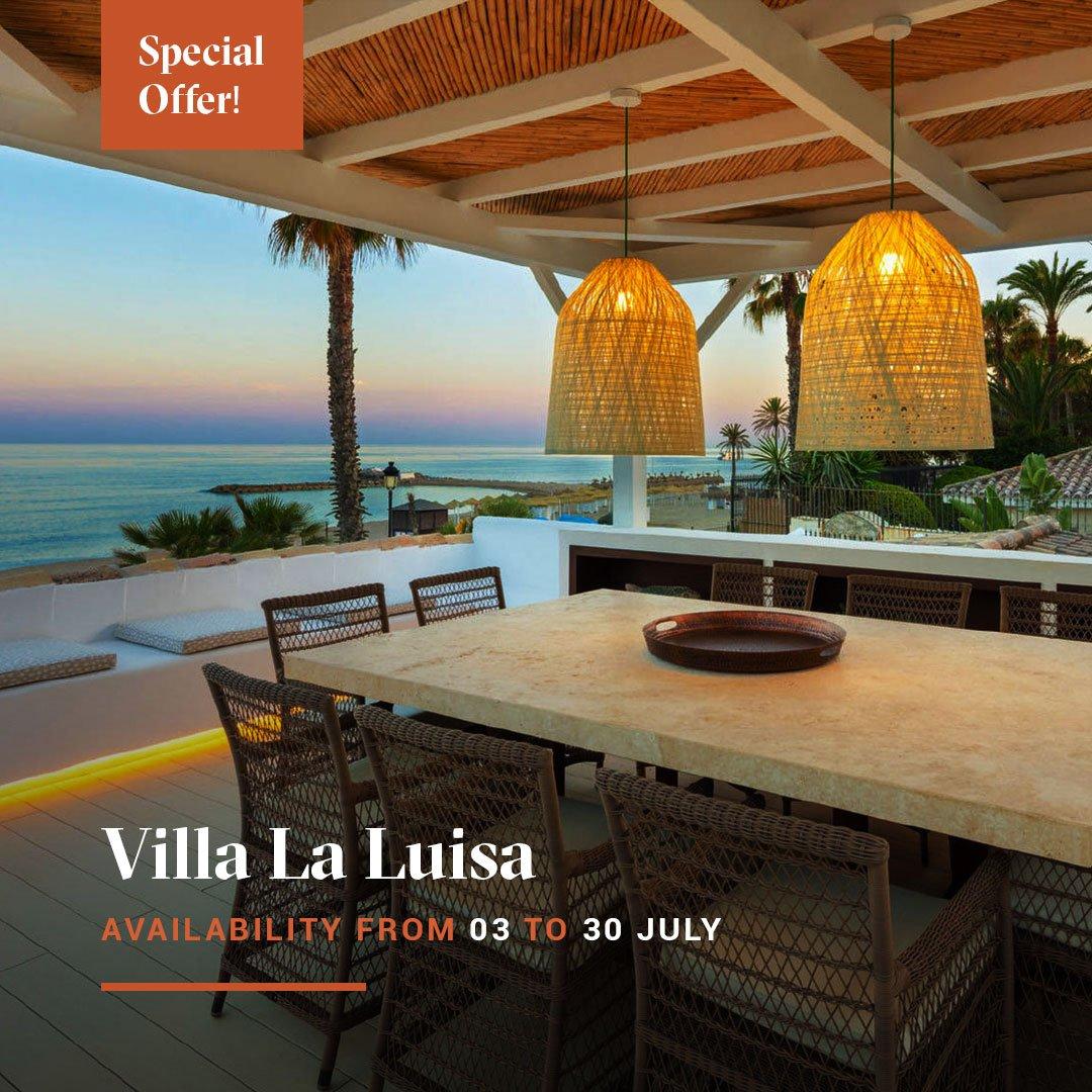 Special offer banner Villa la Luisa