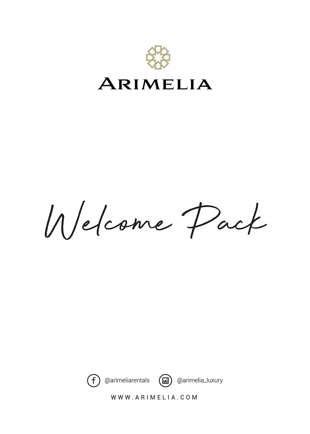 Arimelia Welcome Cover A4