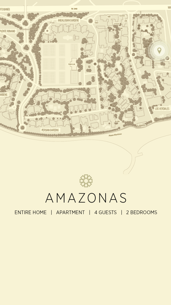amazonas puente romano map