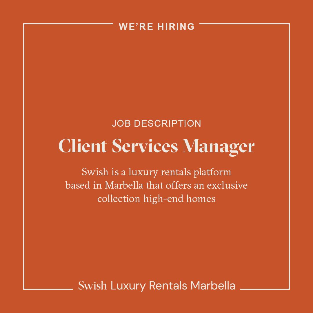 Instagram We are hiring Social media banner client service