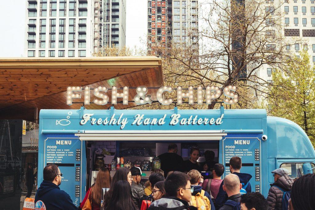 Food trucks - phantom kitchens