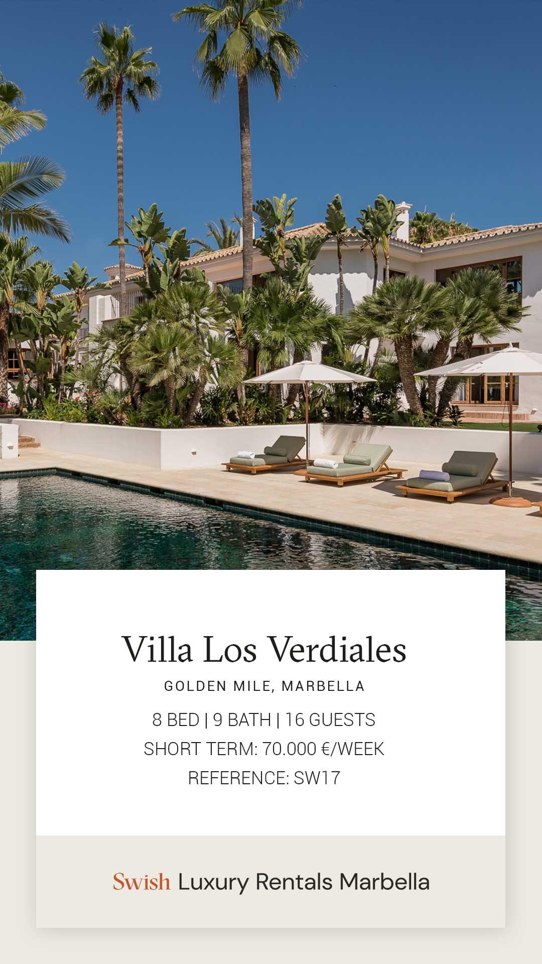 Villa Rental Story Template